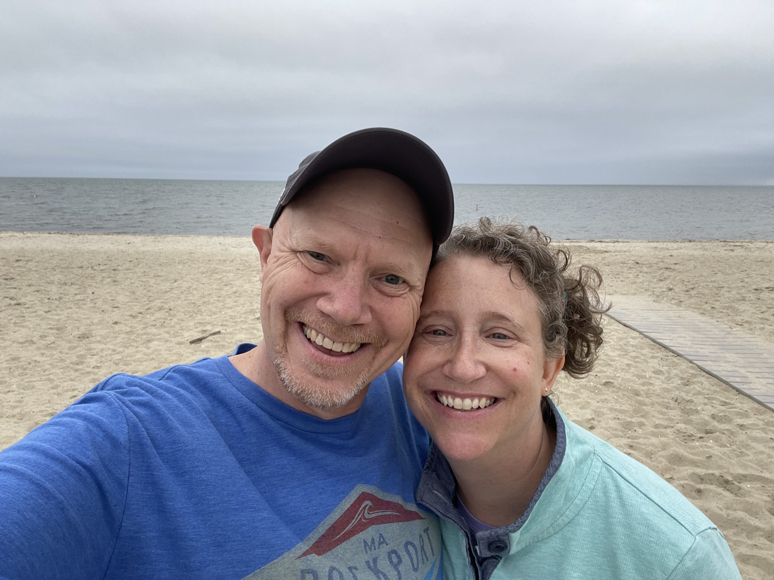 Selfie of a couple